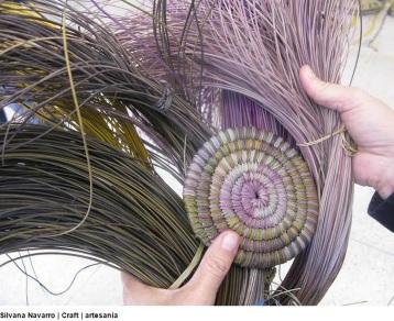 tejido con alfalfa